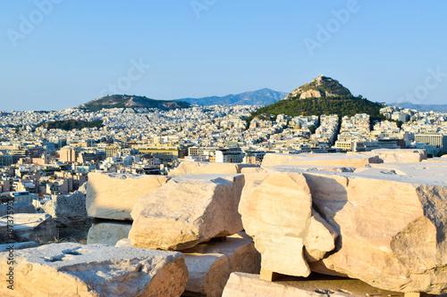 Zdjęcie XXL Mount Lycabettus w Atenach.
