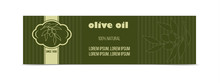 Olive Oil Horizontal Banner Wi...