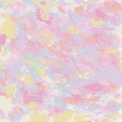 FototapetaPastel abstract Watercolor texture fantasy background for your design illustration