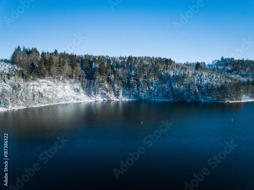 Aluminium Prints Glaciers Winterlandschaft