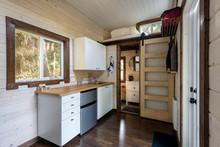 Interior Design Of A Kitchen A...