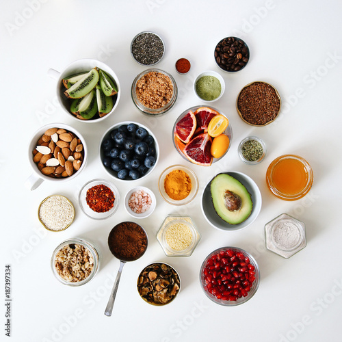 Lots of healthy stuff