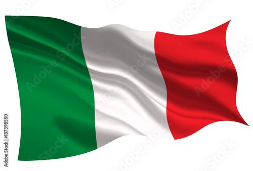 イタリア  国旗 旗 アイコン Canvas