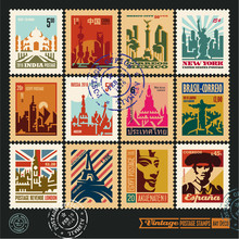Postage Stamps, Cities Of The ...