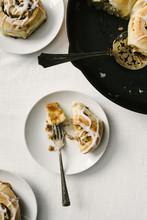 Fig And Lemon Swirl Rolls