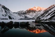 Sunrise At Convict Lake, California