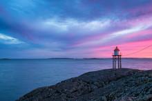 Lighthouse In Haugesund, Norway