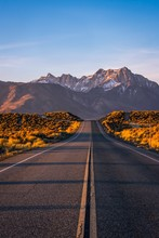 A Road In Eastern Sierra Leadi...