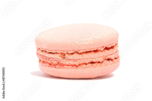 Poster Macarons Appetizing cakes macaroons, isolate, close up