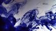 Zeitlupe Tinte Unterwasser