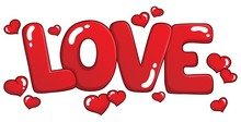 Word Love Theme Image 1