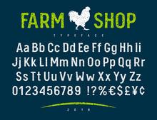 Farm Shop Font 001