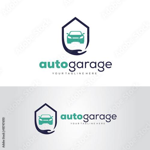Auto Garage Logo Template Design Vector Emblem Design Concept Creative Symbol Icon Buy This Stock Vector And Explore Similar Vectors At Adobe Stock Adobe Stock