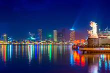 Skyline Of Da Nang By Han Rive...
