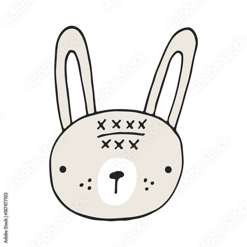 glowa-zajaczka-rysunkowy-krolik-z-dlugimi-uszami