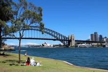 Sydney In Summer View From Lav...