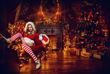 Temptress In Santa Costume