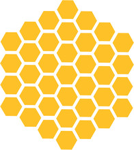 Bee Honeycomb Hexagon Honey