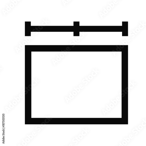 Fényképezés  width symbol icon
