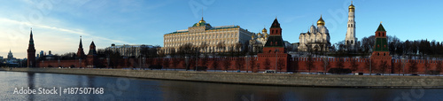 Kremlin and Moscow river panorama © Valery Shanin