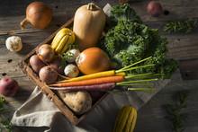 Raw Organic Winter Farmers Market Box