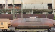 Rusty Torpedo Car