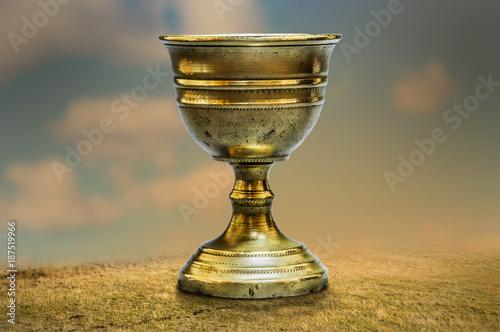 Fotografie, Obraz  Ancient chalice