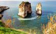 Raouche Rocks, Beirut - Lebanon