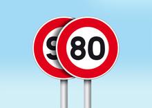 Limitation Vitesse 80 Km/h