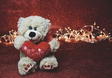 Valentin - Valentinstag Teddy
