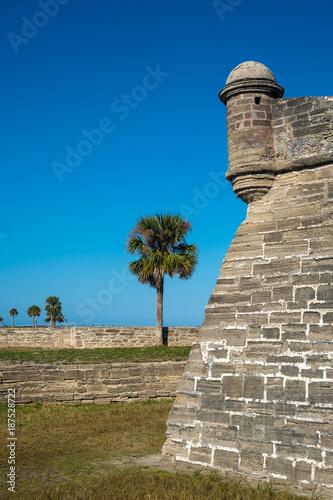 Foto  St. Marks Schloss, St. Augustine, FL, USA