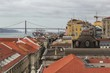 Views of Lisbon city in the afternoon