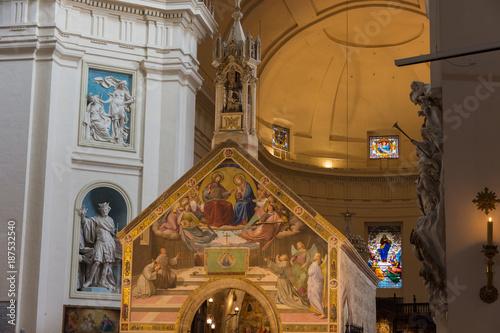 Fotografie, Obraz  Assisi, Basilica di Santa Maria degli Angeli