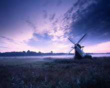 Dawn, Herringfleet Drainage Mill