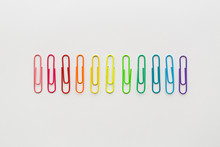 Rainbow Paperclips