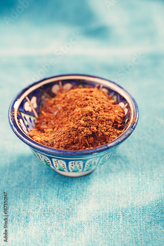 Photo  Ras el hanout is a spice mix from Morocco