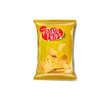 Potato Chips Advertisement Bag...