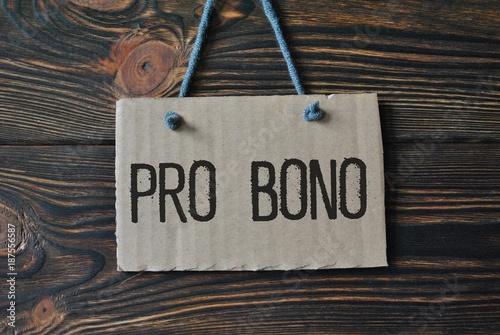 Fotografia  Pro bono