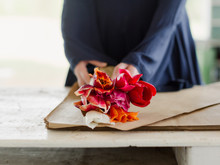 Wrapping  Fresh Flowers