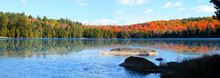 Keiser Pond Panoramic View In ...