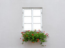 Beautiful Old Window Frame Wit...
