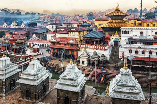 Canvas Prints Seoul Pashupatinath Temple, Kathmandu, Nepal