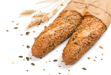 Two Bread With Mix Seed Grain...