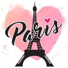 Paris Hand Drawn Vector Letter...