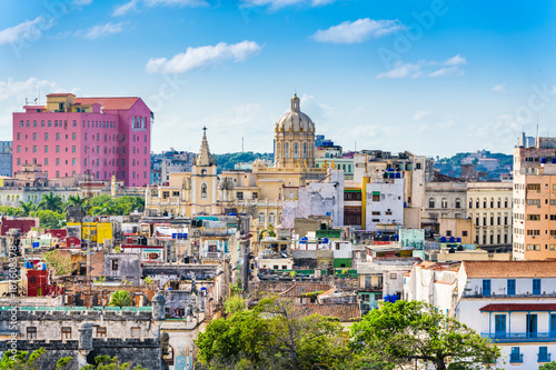 Photo sur Toile La Havane Havana, Cuba downtown skyline.