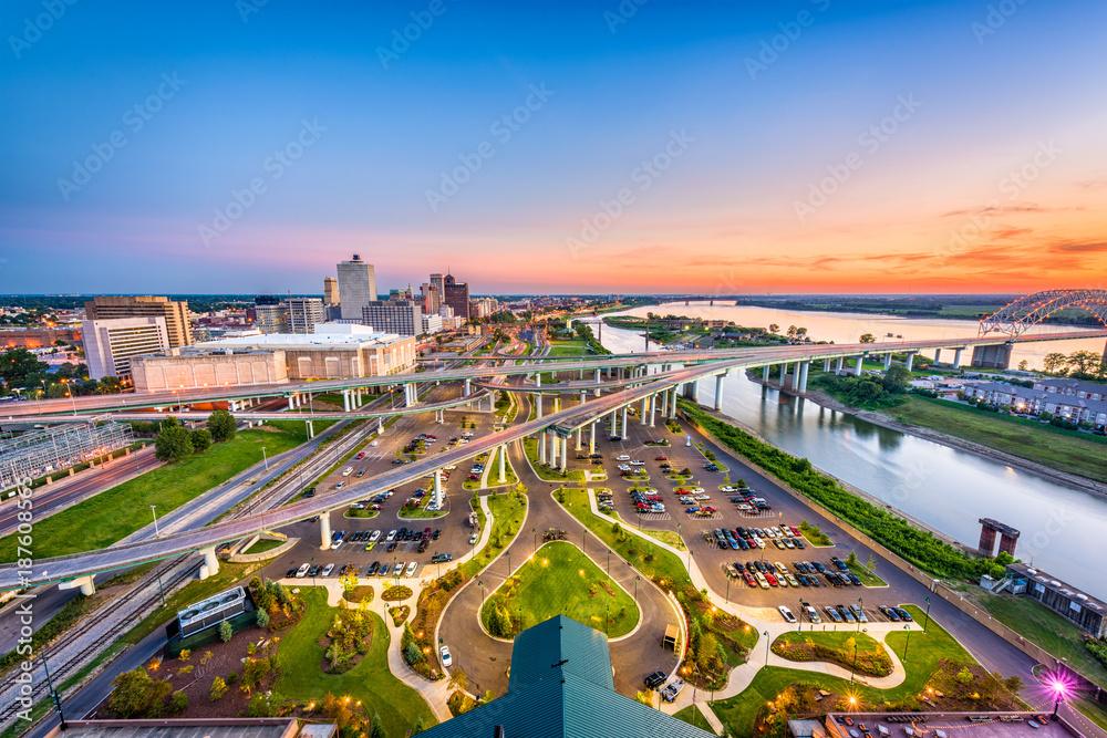 Fototapeta Memphis, Tennessee, USA