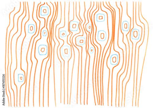 Orange lines - 187615326