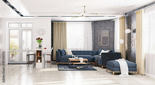 modern living room - Buy this stock photo and explore similar images ...