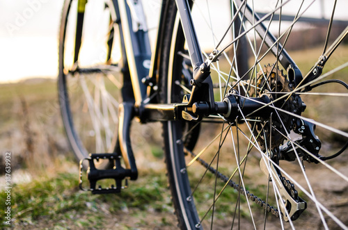 The technic part of bicycle © Giddrid