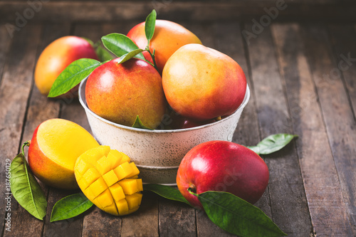 Fresh mango fruit Wallpaper Mural